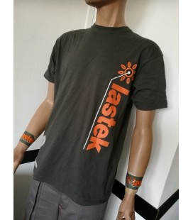 T-Shirt Lastek Grigia