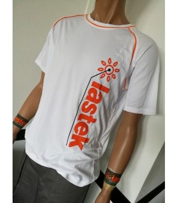 T-Shirt Lastek Bianca in tessuto tecnico