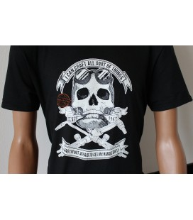 T-Shirt Lastek Skull Oxy-fuel welding & cutting Nera