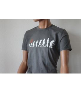 T-Shirt Lastek Evolution Grigia